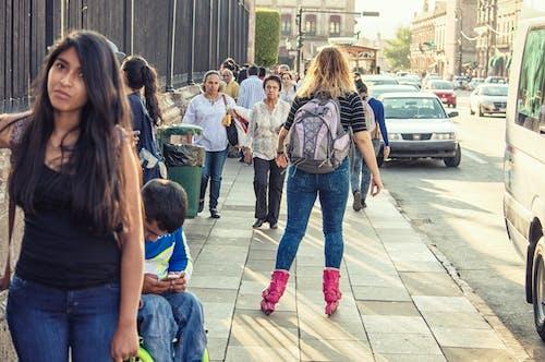 คลังภาพถ่ายฟรี ของ กระเป๋าเป้, กลางวัน, ตอนบ่าย, ถนน