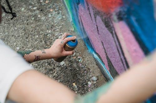 Kostenloses Stock Foto zu festhalten, graffiti, halten