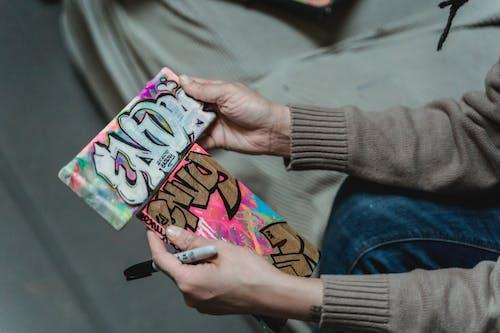 Fotos de stock gratuitas de adentro, arte grafiti, caligrafía