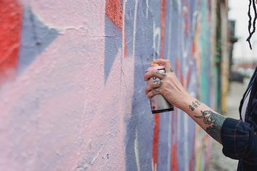 Kostenloses Stock Foto zu farbe, graffiti, hand