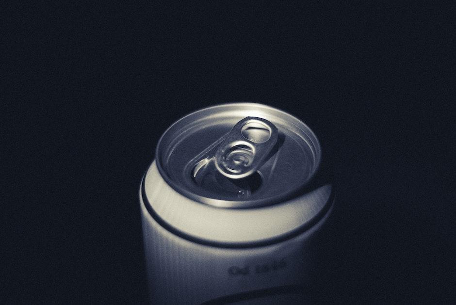 beer, beverage, can