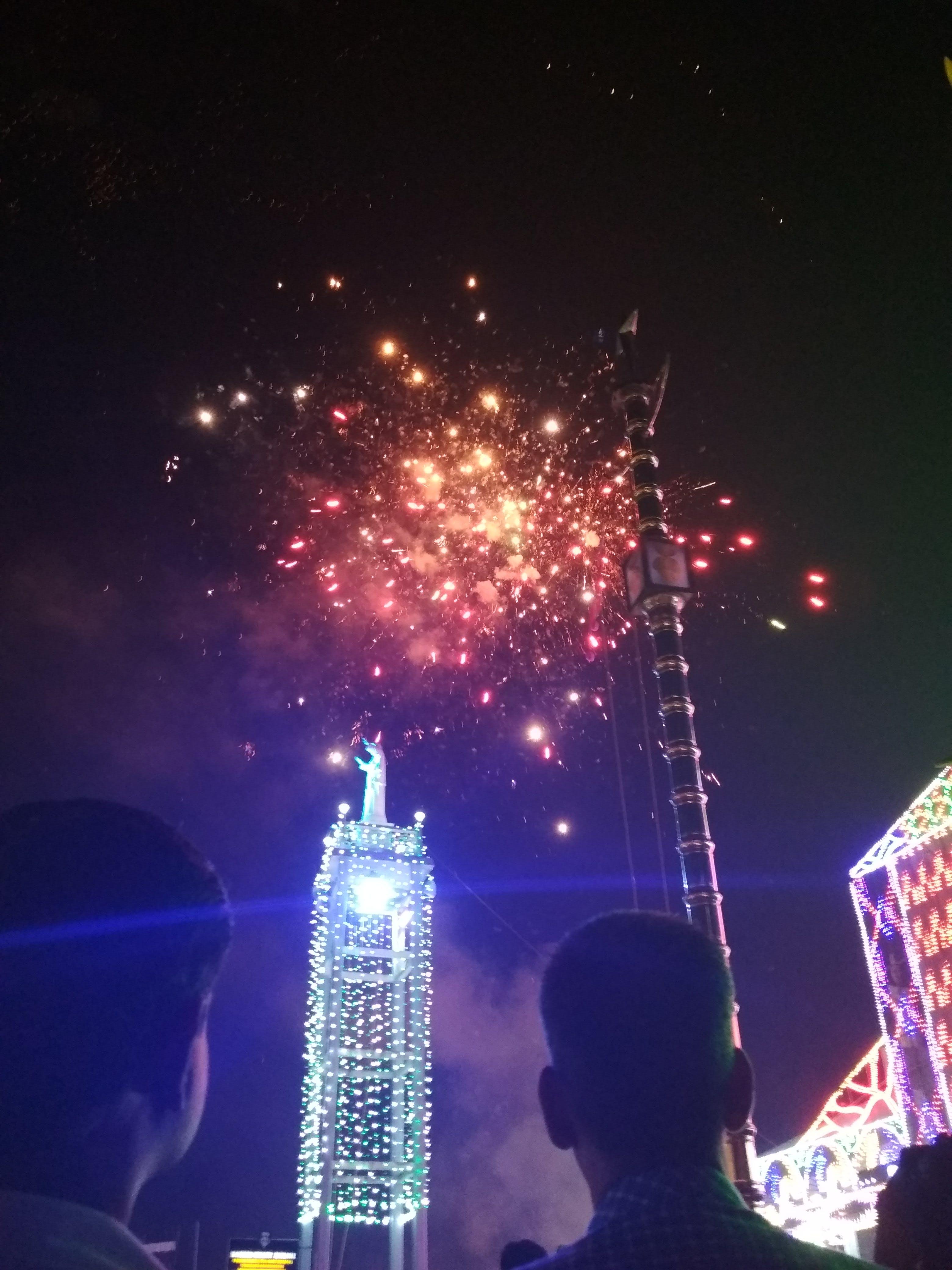 Free stock photo of fireworks, illumination