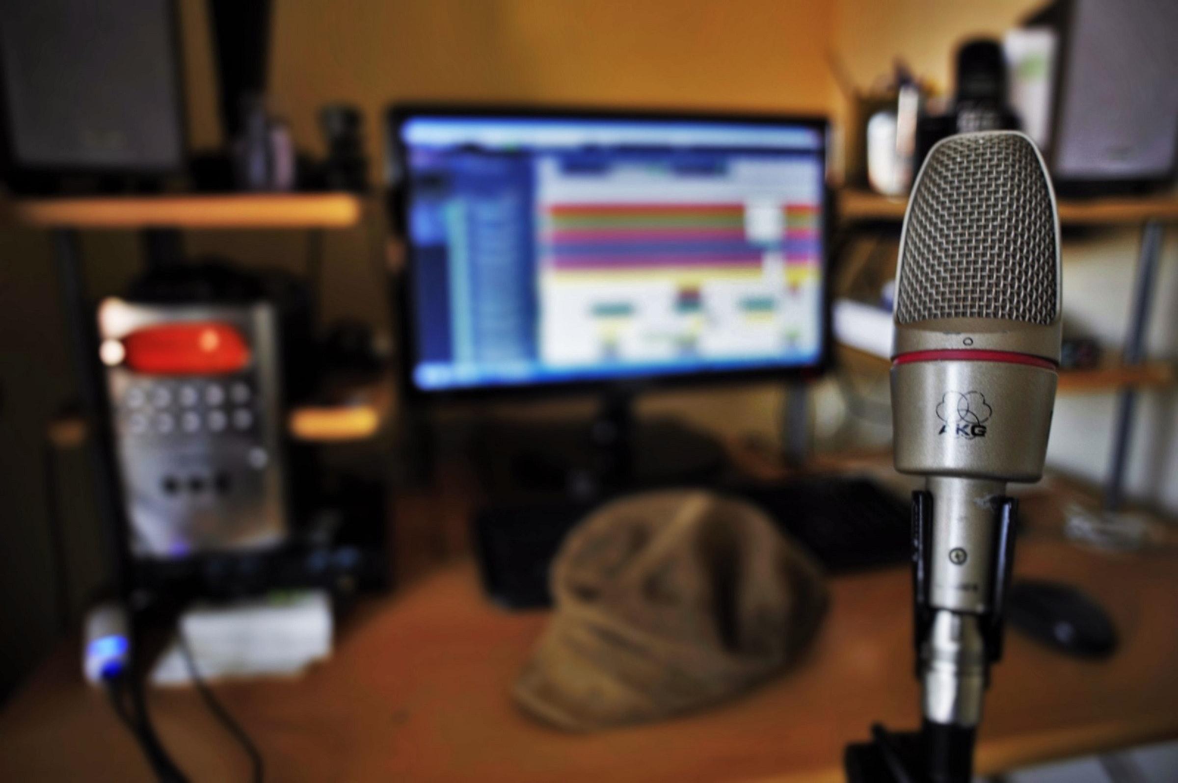 Free stock photo of home recording, music studio, recording