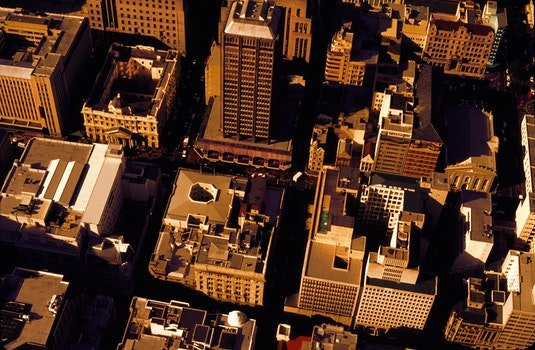 Aerial Photography of High Rise Buildings