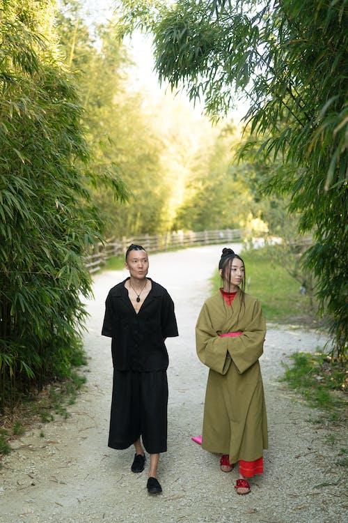 亞洲人, 休閒, 傳統服飾 的 免費圖庫相片