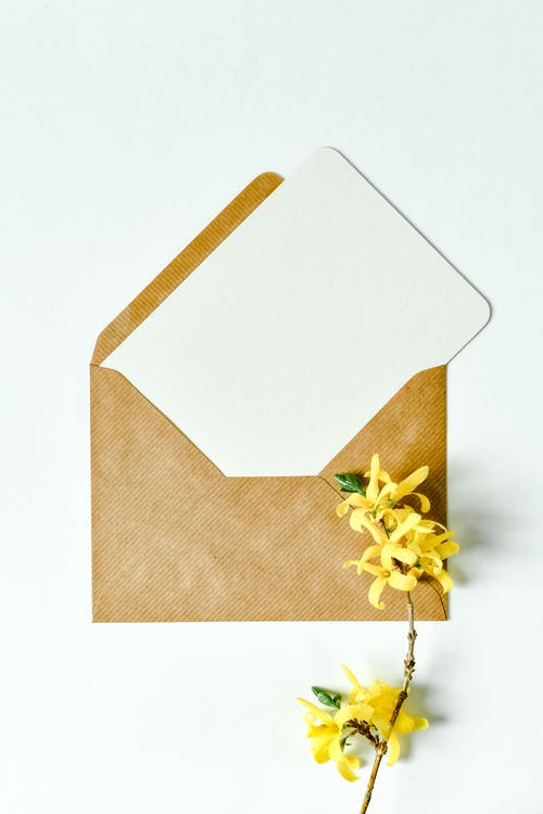 White and Brown Gift Box