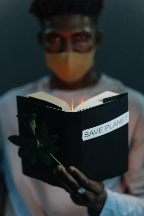 Základová fotografie zdarma na téma globální oteplování, kniha, makro