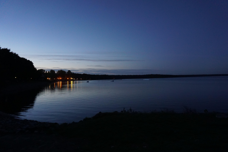Free stock photo of dusk, lake, night