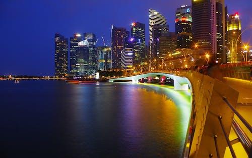 Imagine de stoc gratuită din podul esplanadei, Singapore