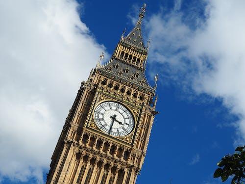 伊丽莎白塔, 伟大的钟声, 倫敦, 倫敦大笨鐘 的 免费素材照片