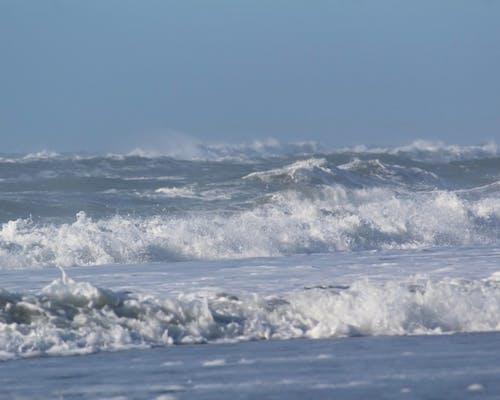 Free stock photo of beach, beach waves, blue ocean