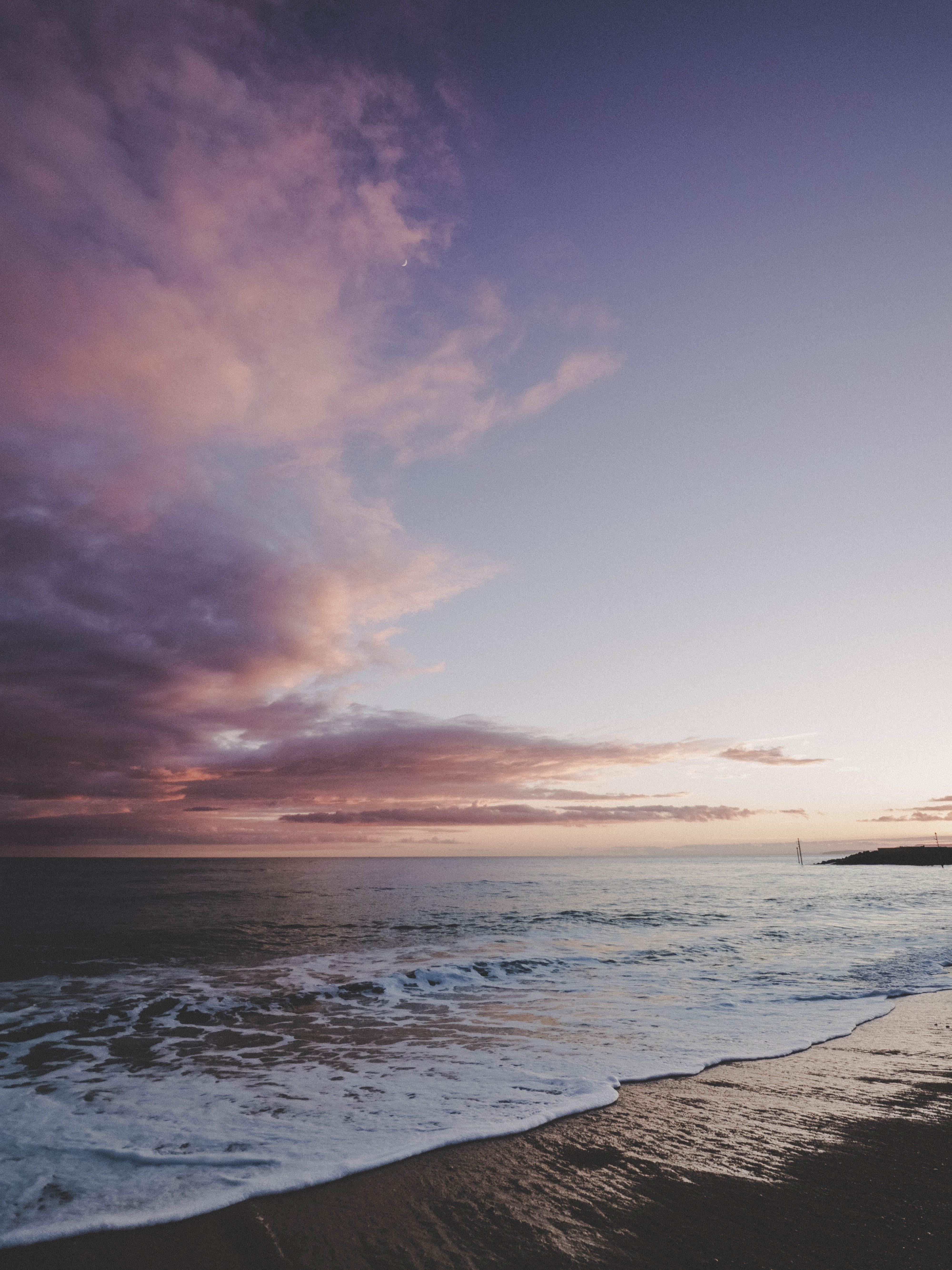 Seawater Taken at Sunset