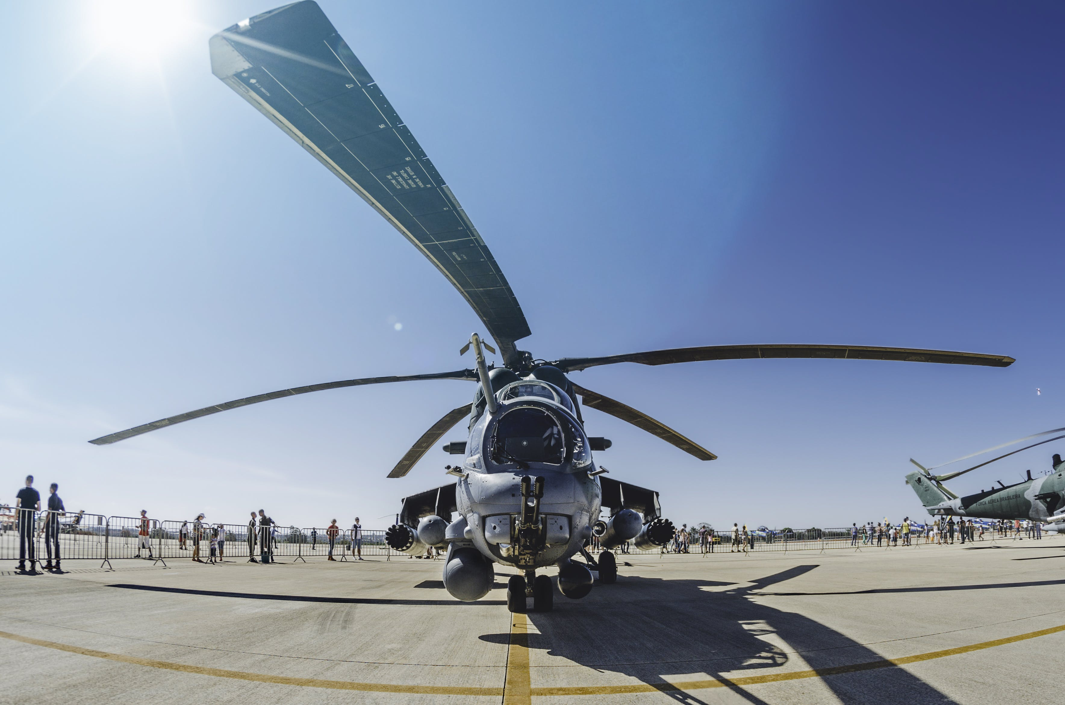 Photo of Fighter Helicopter