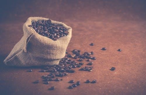 Fotos de stock gratuitas de aroma, aromático, arpillera, café
