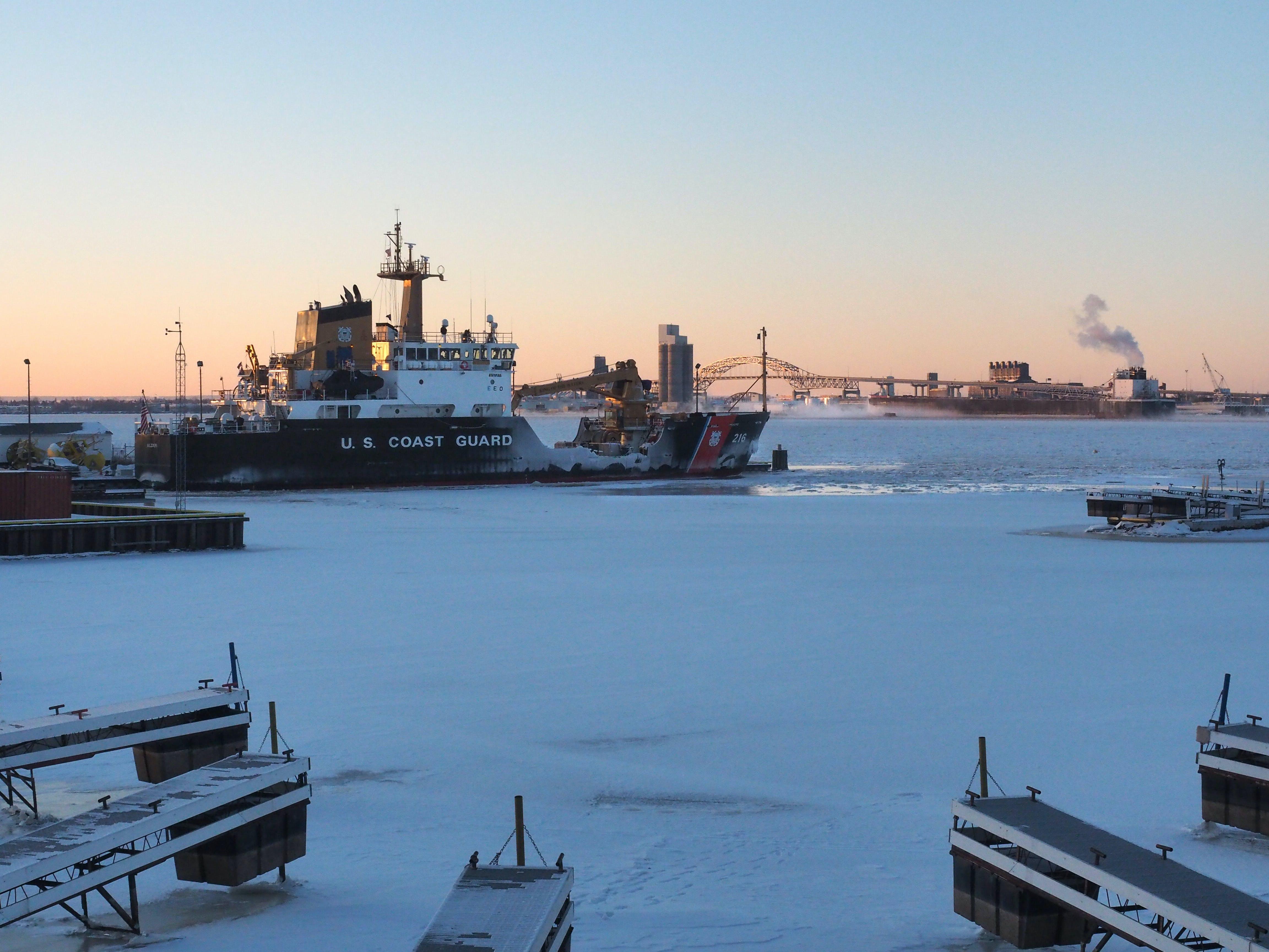 Free stock photo of cold, frozen, harbor, ice
