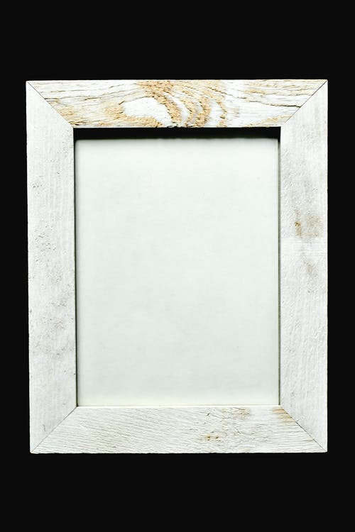 White and Brown Wooden Frame