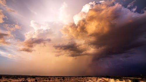 Free stock photo of bad weather, new mexico, orange