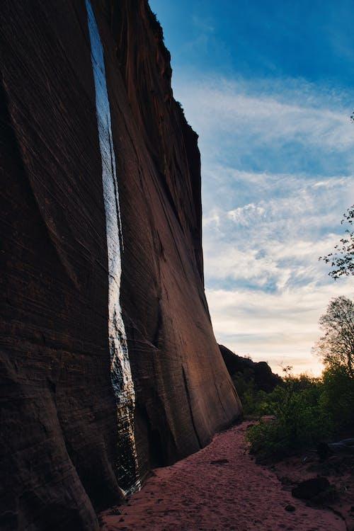 Free stock photo of cliff, desert, dusk
