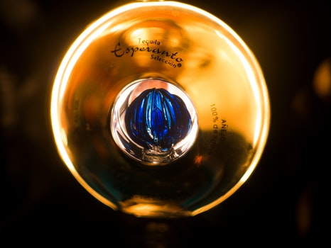 Free stock photo of light, blue, alcohol, yellow