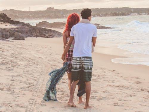 Free stock photo of amour, beach, beautiful, blue