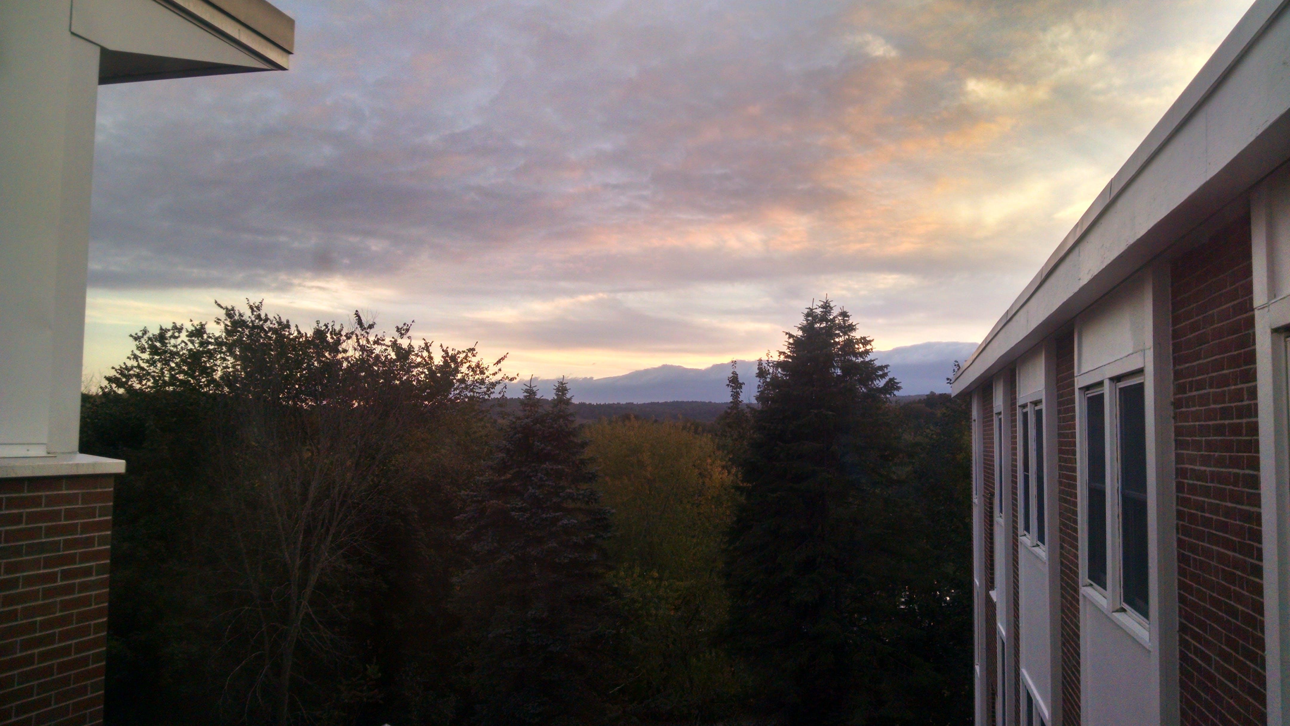 Free stock photo of clouds, dark, fall, horizon