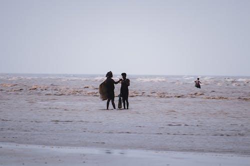 おとこ, サーフィン, ビーチの無料の写真素材