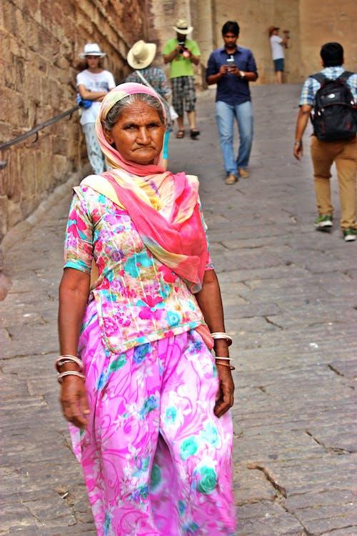 Ingyenes stockfotó fénykép, hölgy, India, kor témában