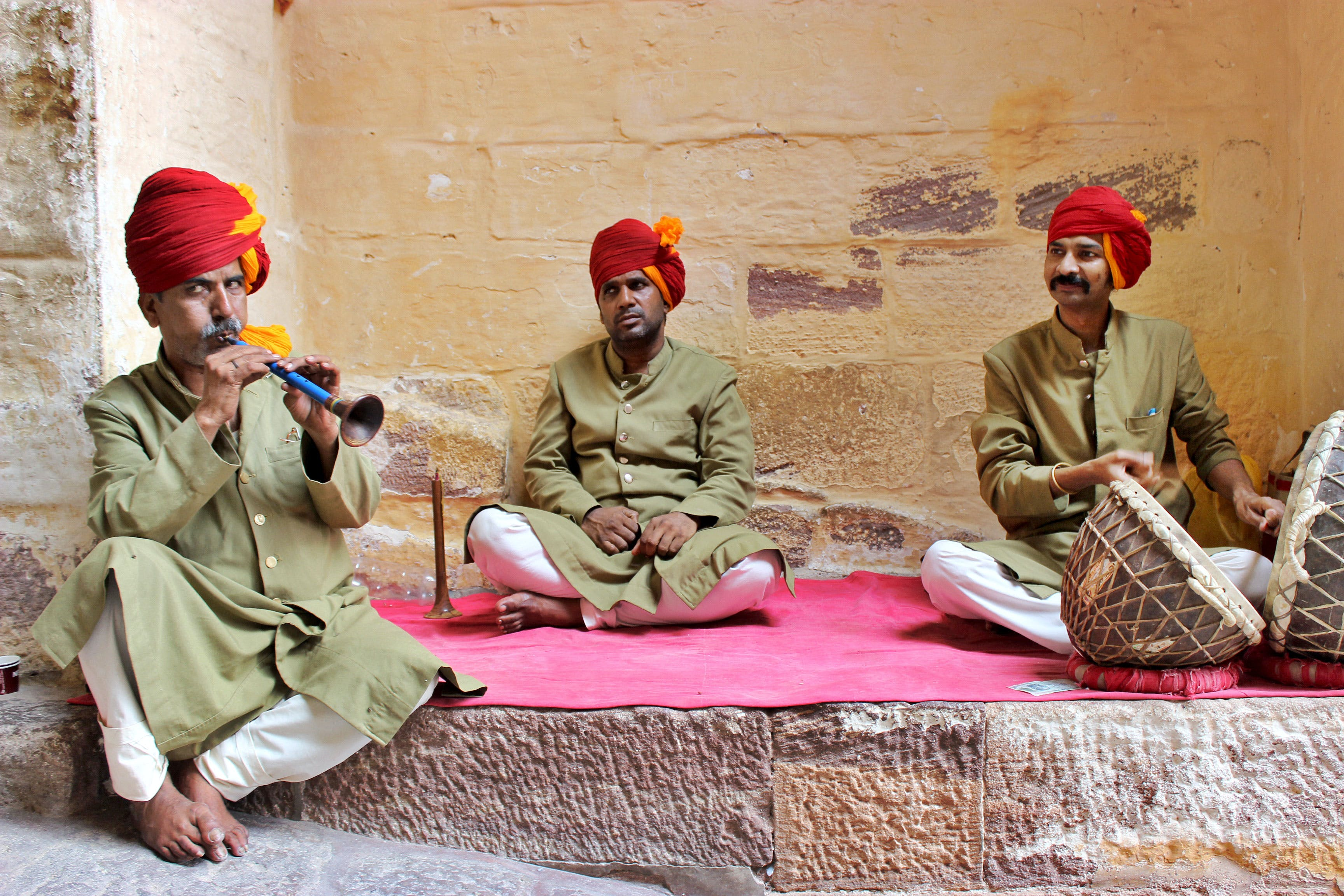 Free stock photo of india, men, song, traditional