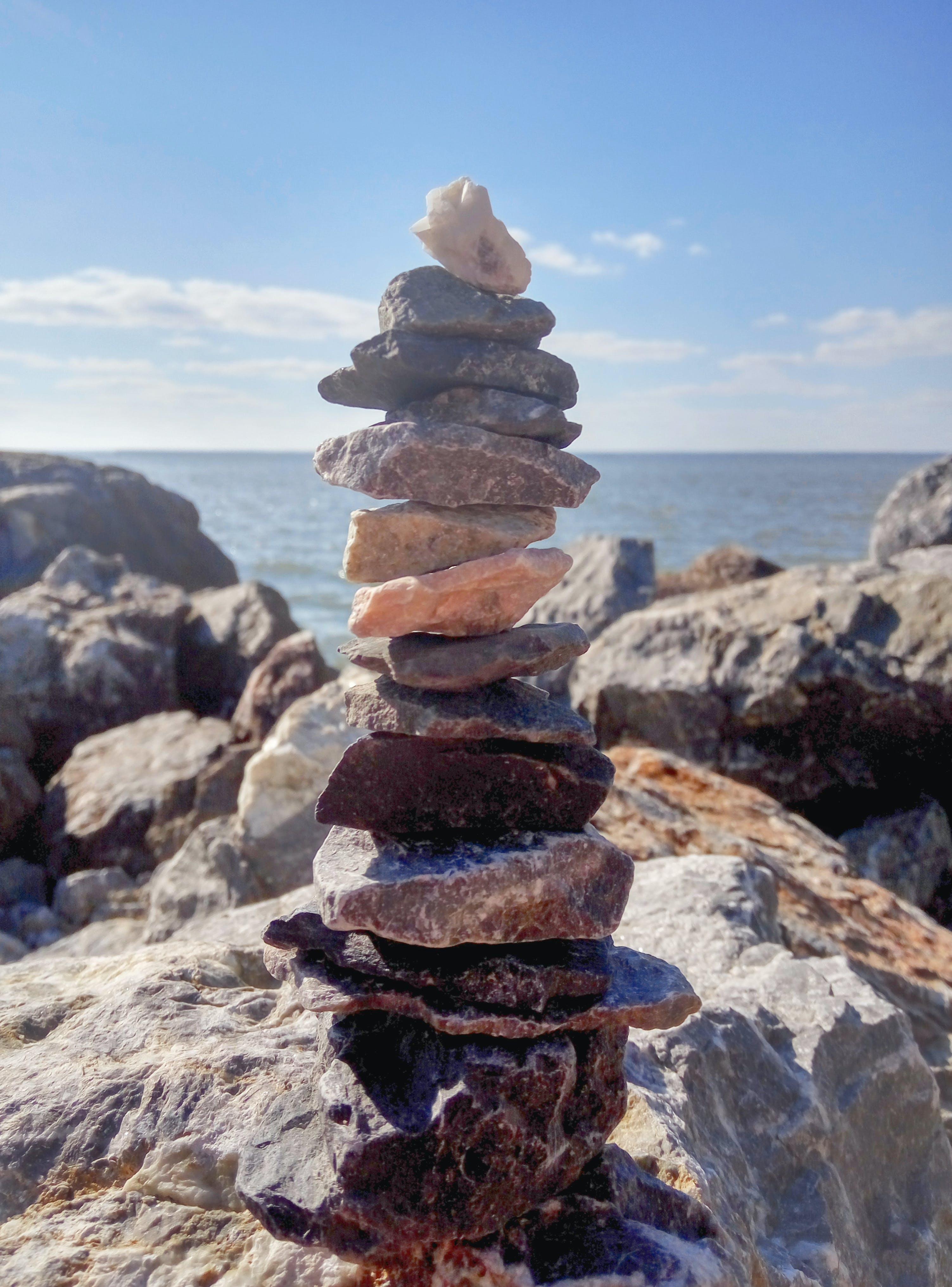 of balance, balancing, colours, gray