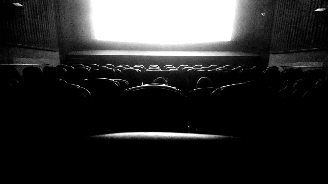 movie, screen, theater