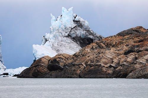 A Picturesque View of a Glacier