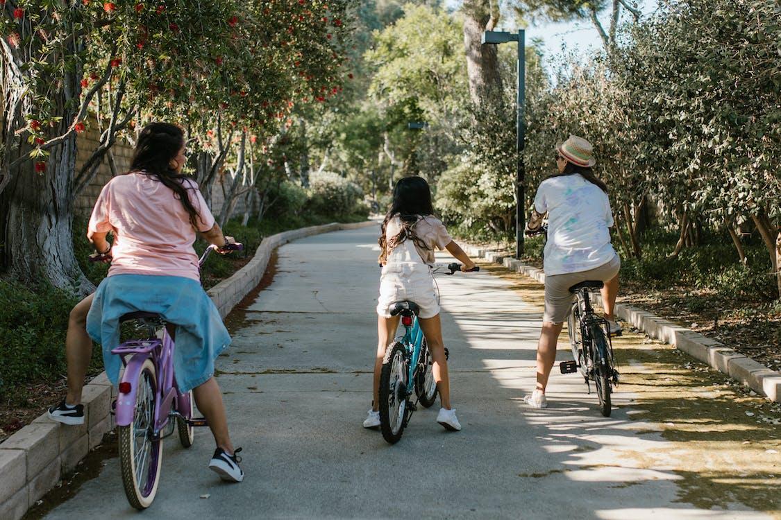 Бесплатное стоковое фото с активный отдых, Байкеры, Велосипеды