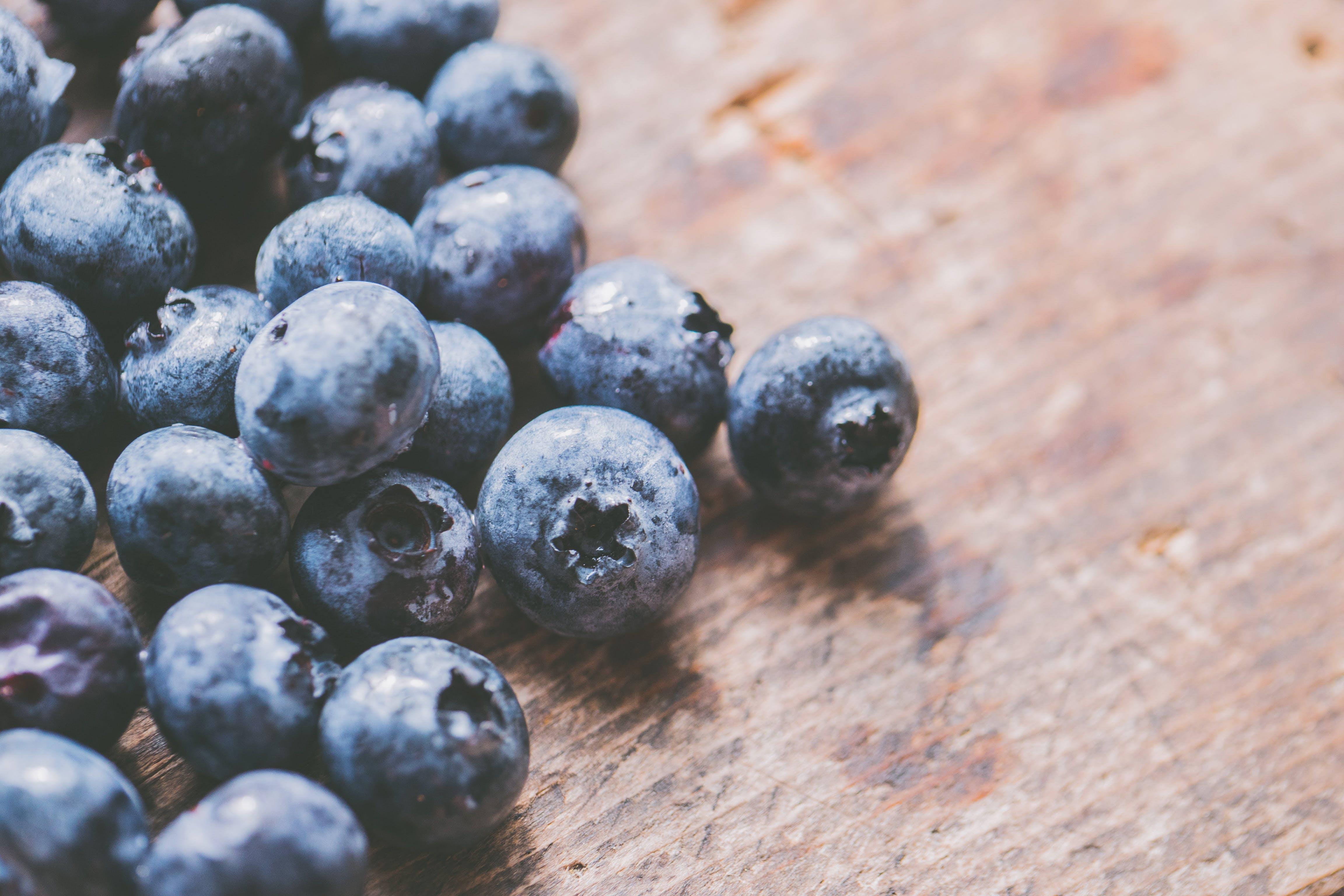 Kostenloses Stock Foto zu beeren, blaubeeren, essen, essensfotografie