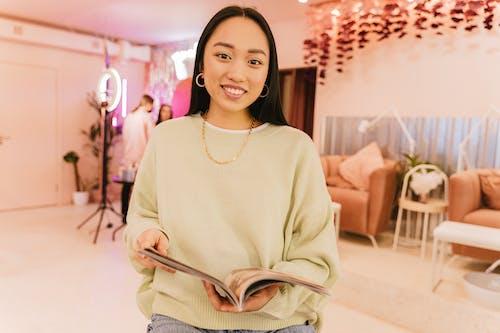 Ingyenes stockfotó ázsiai nő, ékszerek, elegáns témában
