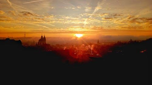 Free stock photo of city, light, prague, sun