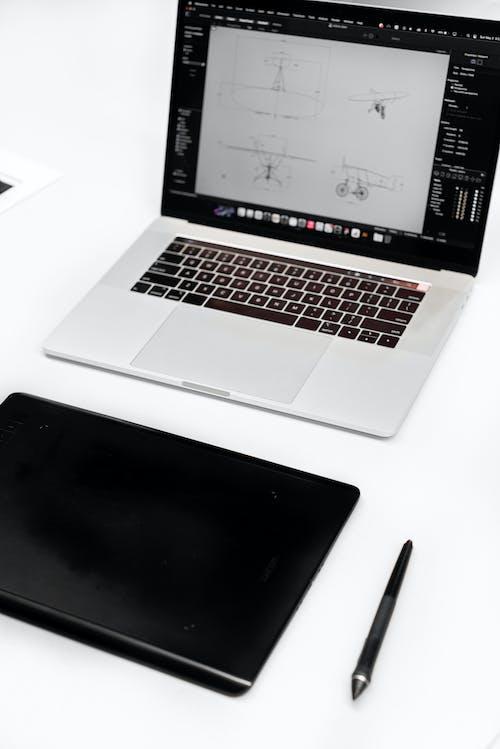 垂直拍攝, 手寫筆, 技術 的 免費圖庫相片