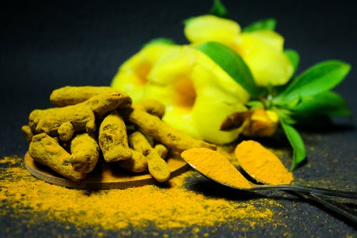 Turmeric  Coated in Powder
