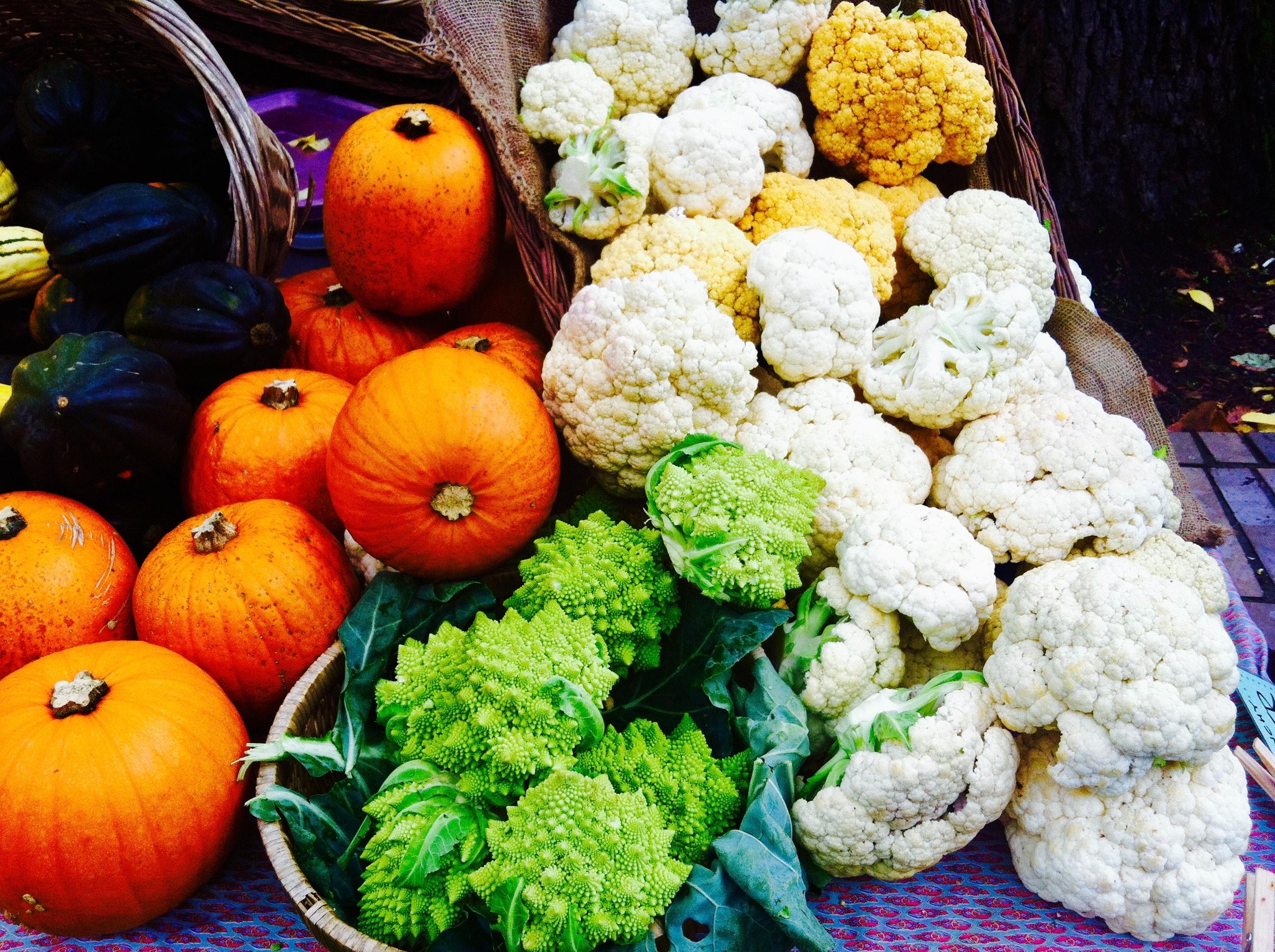 Free stock photo of farm produce, fresh produce, fresh vegetables