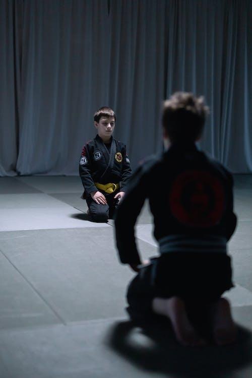 Kids Training in Jujutsu