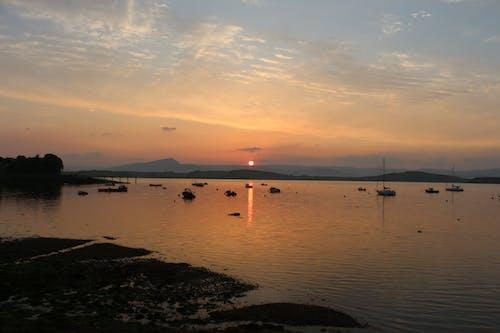アイルランド, ビーチの夕日, ベイの無料の写真素材
