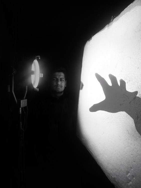 #写真, #闇, 白黒の無料の写真素材