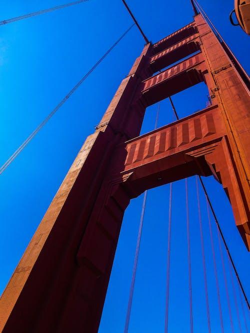 Free stock photo of bridge, golden gate bridge, red, san francisco