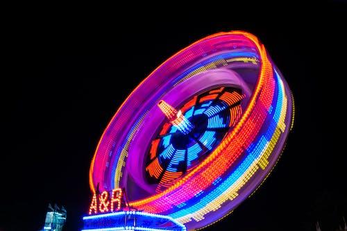 Free stock photo of colour, fairground, ferris wheel, fun fair