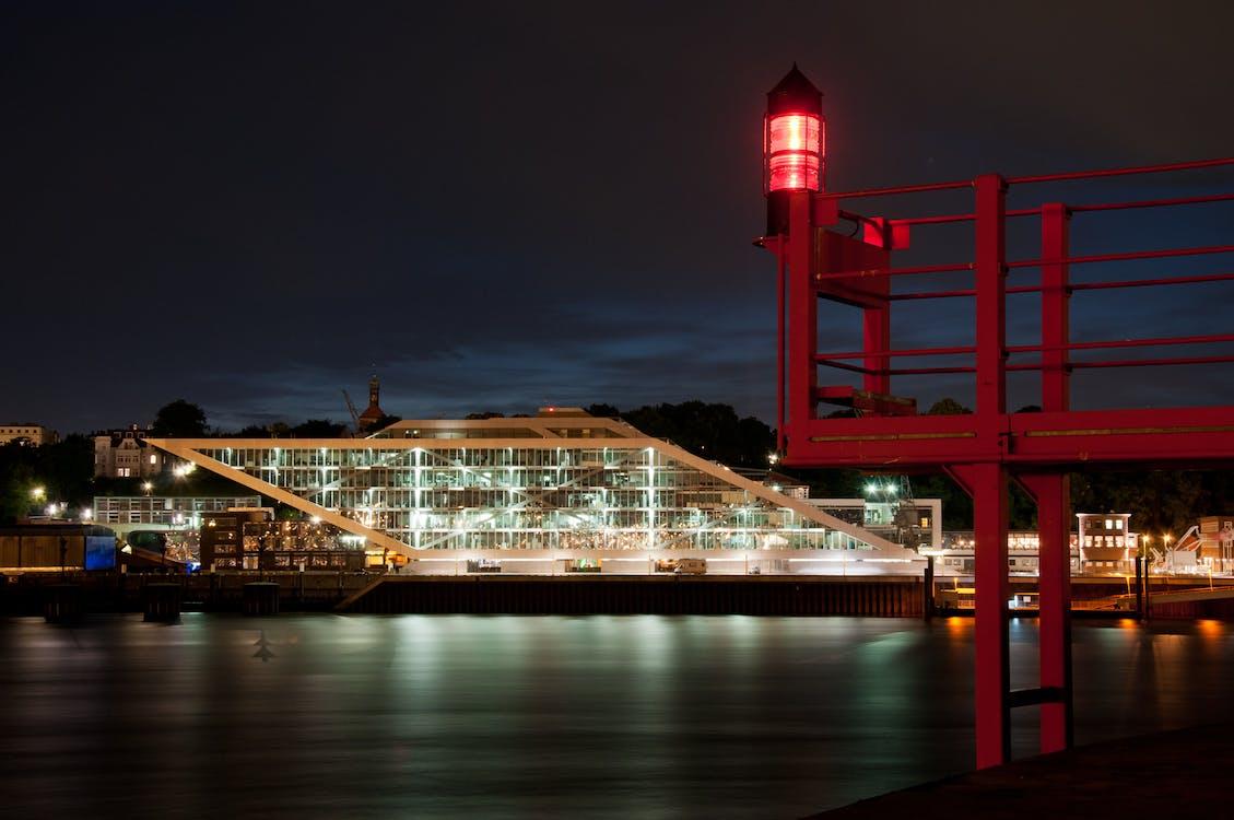 Gratis lagerfoto af bygning, dockland, floden elbe
