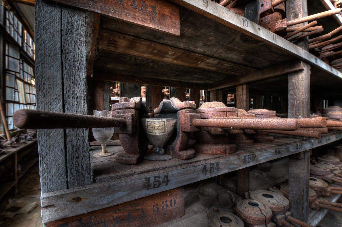 fabrik, forme, glas