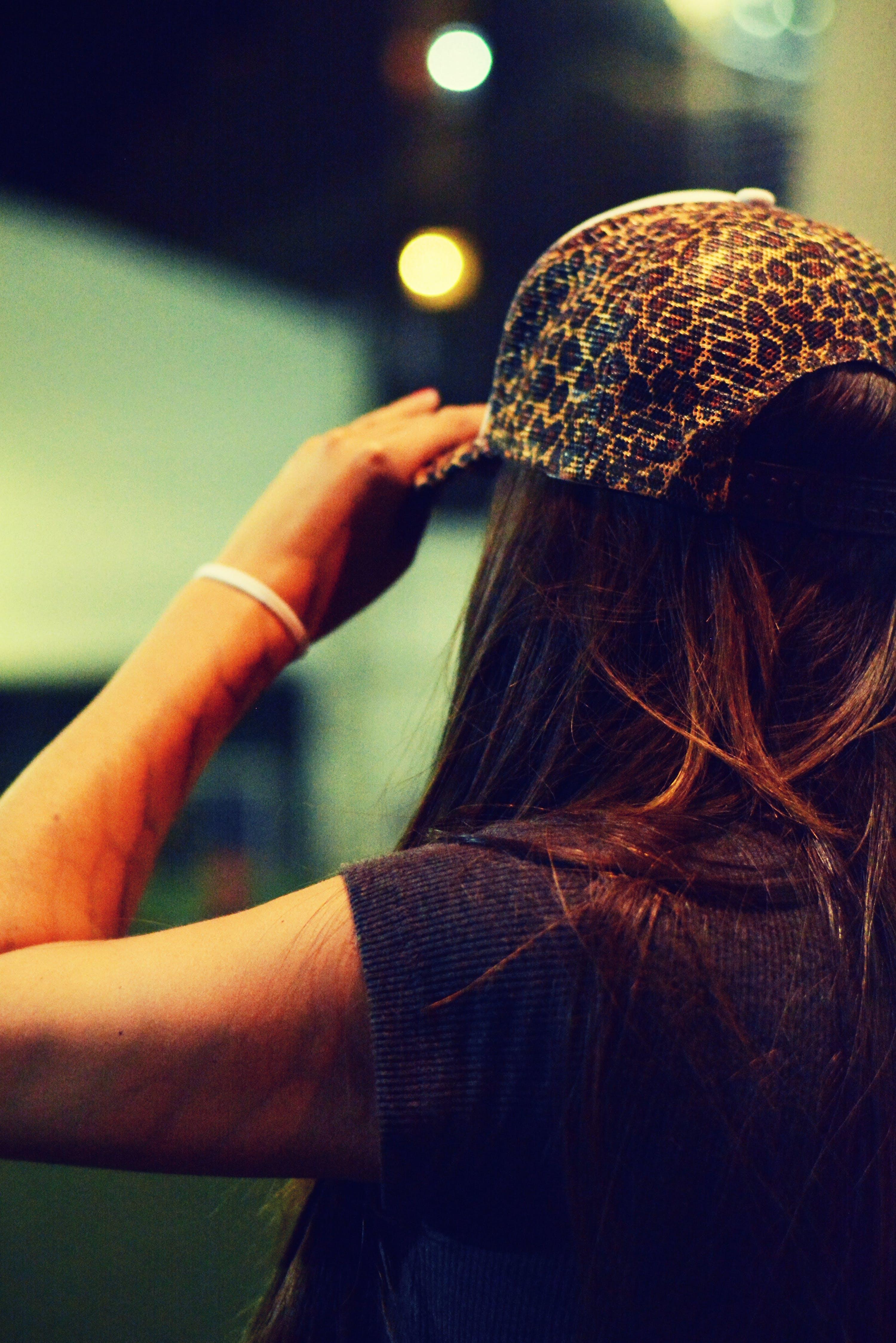 Free stock photo of girl, girls, hat, trucker