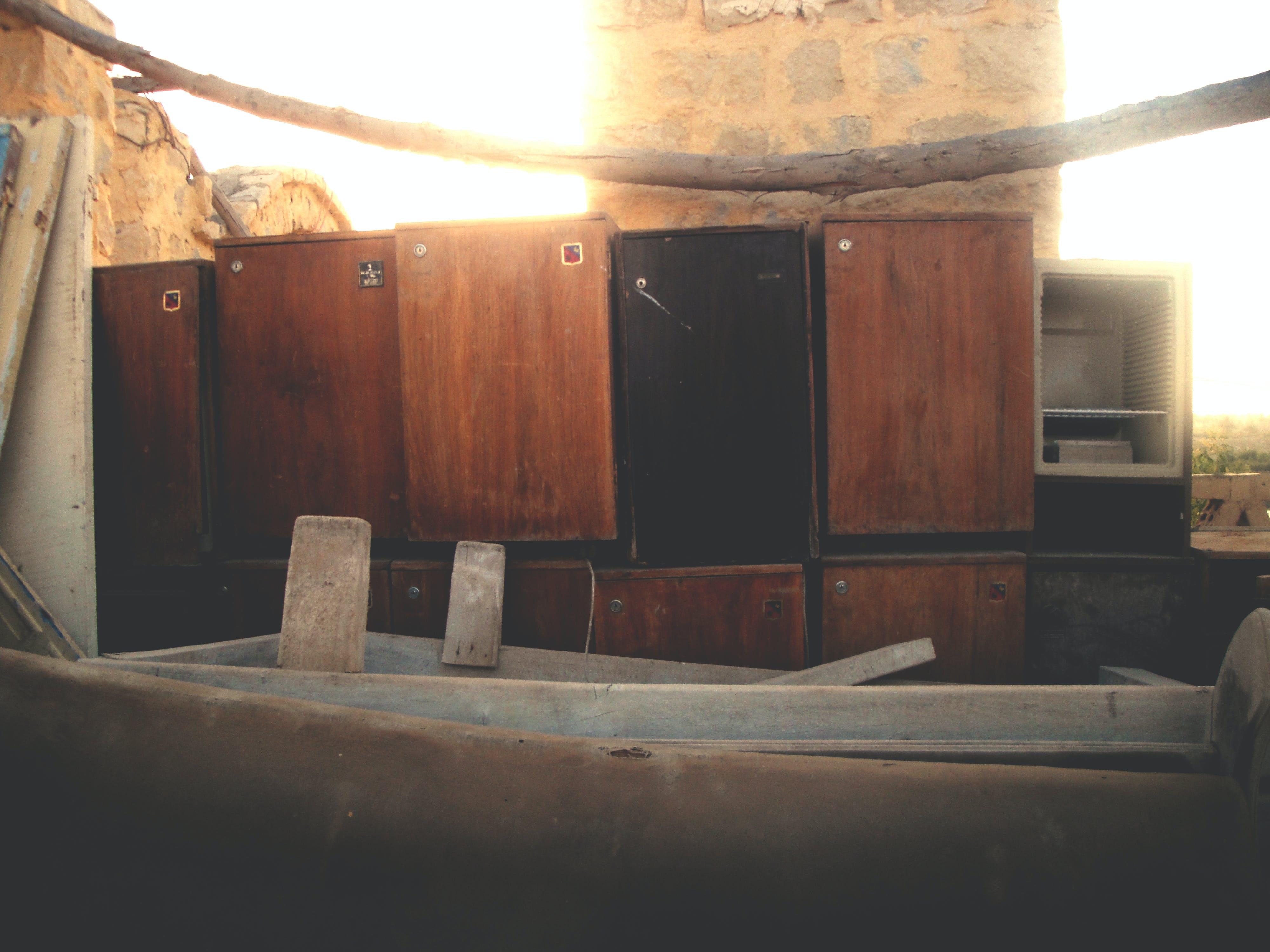 Free stock photo of abandoned, arabesque, broken, furniture