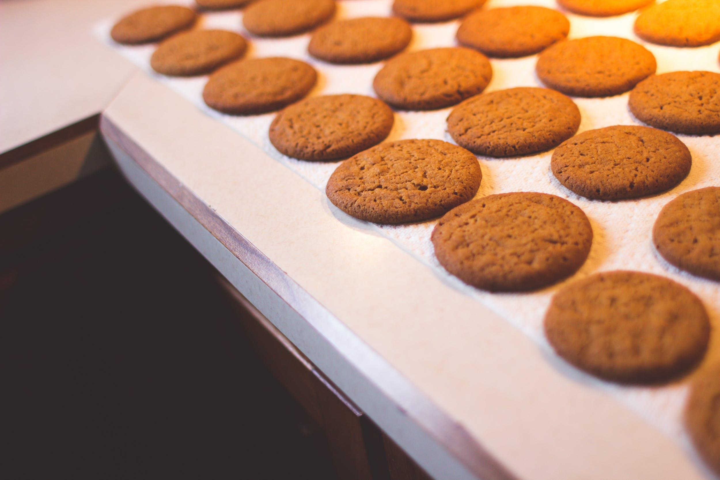 Free stock photo of cookies, baking, bake, counter