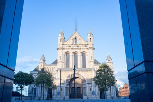 Free stock photo of Belfast, church, low angle shot, St Anne's Cathedral