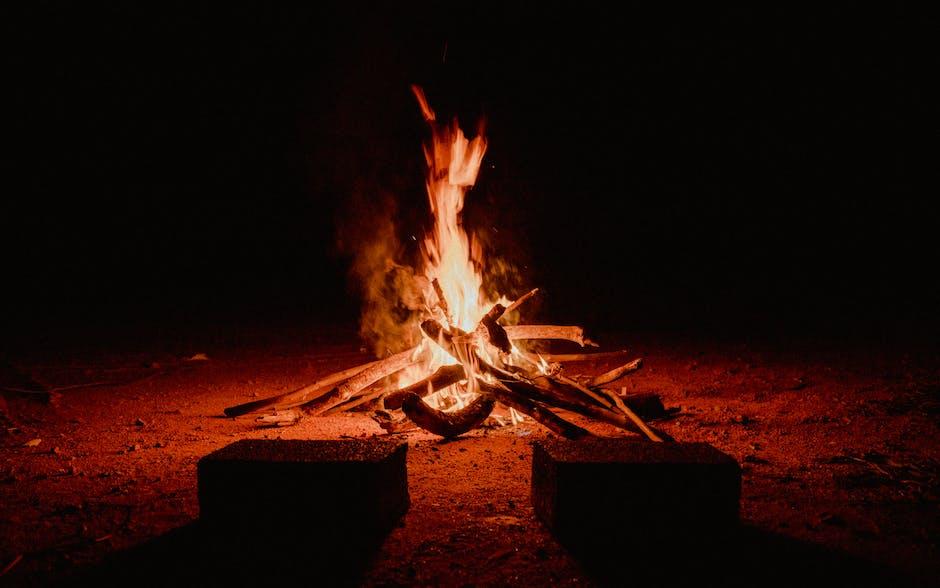 Organizar uma festa junina - fogueira